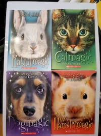 Books-Holly Webb collection. 4 new child books from Scholastic