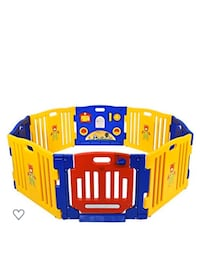 Baby Toddler Interactive Play Pen Gate