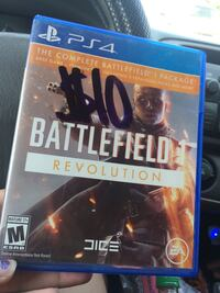 Sony PS4 Battlefield 1 game case Bakersfield, 93308