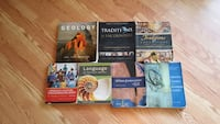 seven assorted  college textbooks Hilo, 96720