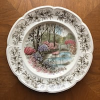 Windsor Ware collectible plate