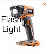 Ridgid work flash light 18v