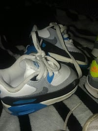 pair of gray-and-blue Nike running shoes Lexington, 40504