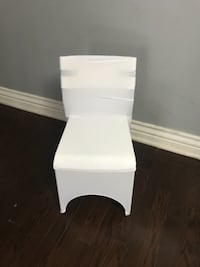 Spandex chair covers for rent. Brampton