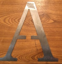Metal letters A Tulsa, 74133