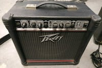 black Peavey guitar amplifier with case Toronto, M5V 3W5
