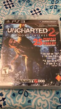 Uncharted 2 PS3  Burnaby, V5G 1X5