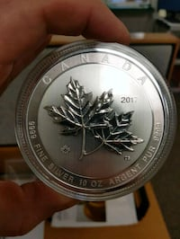 10 oz coin  Brookside, B3T 1T8