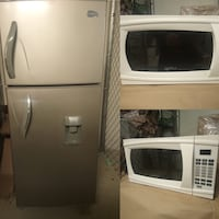 The combo: buy the fridge and get the microwave free! Arlington, 22201