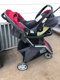 Car seat , stroller and base