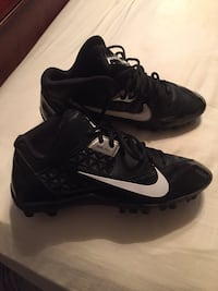 Nike Alpha Shark 3/4 Black Cleats  College Station, 77845