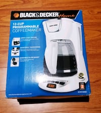 Black & Decker - 12 Cup programmable Coffee Maker Mississauga, L5M 0R4
