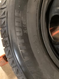 Michelin X-Ice winter tires and rims. Vaughan, L4H 0H6