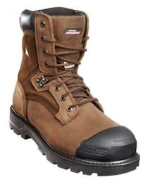 Brand new never worn steel toe boots