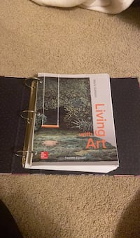 Living with Art college book