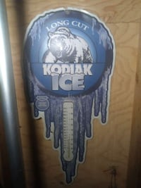 Long Cut KODIAK ICE sign 323 mi