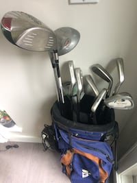 Everything's here. Not a complete set 7&8 irons. Excellent condition Vancouver, V6R 2G3