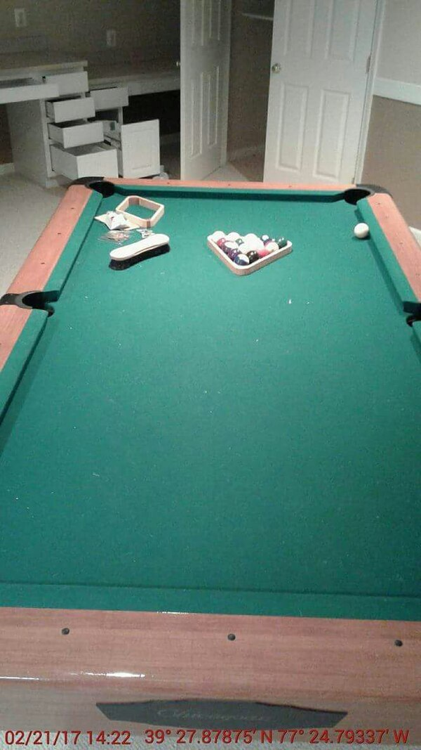 Used Chicagoan Pool Table For Sale In Dundalk Letgo - Chicagoan pool table