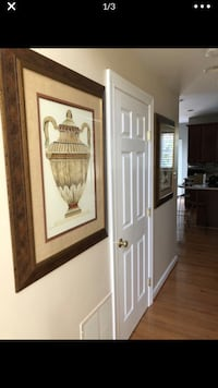 Large double matted pictures of Urns Linthicum Heights, 21090