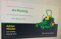 Lawn mowing Lincoln, 68521