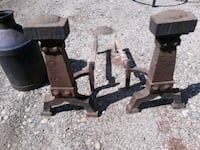 Old cast iron fireplace andrions Henniker, 03242