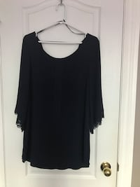women's navy blue scoop neck dress Markham, L6B 0P1