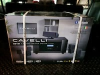 New Cavelli 5.1 wireless home theater  Calgary, T2K 3Y9