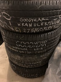 4 used tires—275-60-20 Maple Shade, 08052