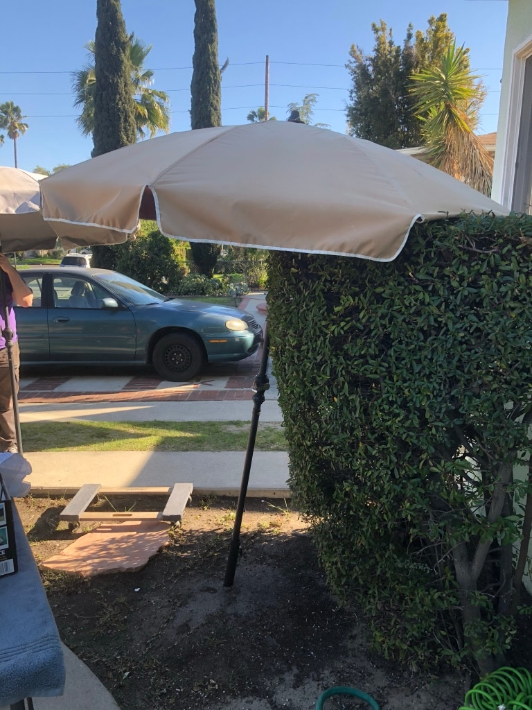 Used Patio Umbrella For Sale In Los Angeles