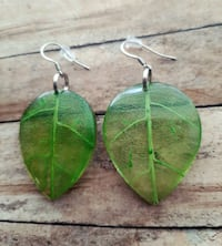 Leaf Acrylic Earrings  Sioux Falls, 57104