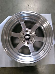 ONE SET OF MST TIME ATTACK - MACHINED - 15x8 4x100 / 4x114.3 OFFSET +0