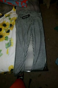 black and white polka dot pants Decatur, 30035