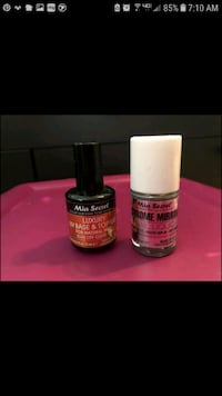 Mia Secret Mirror Effect Gel Nail Set Silver Spring, 20906