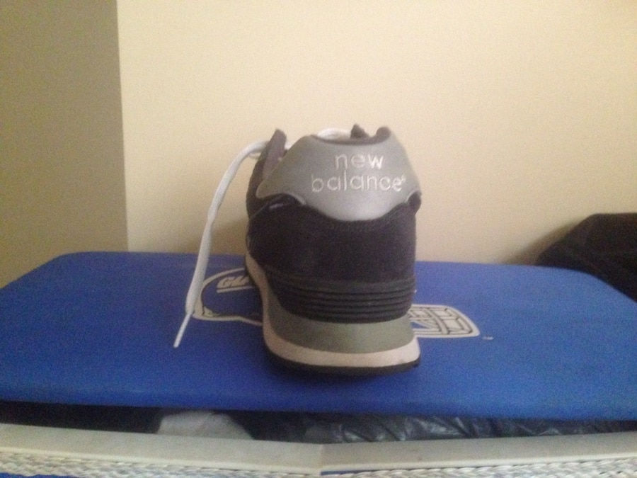 gray and black New Balance low top sneakers - Mississauga