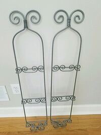 Iron Decorative Plaque wall 3 plate   Wall Décor
