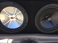 15 kicker and precision power subs Los Angeles, 90043
