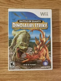 Battlel of Giants Dinasours strike Nintendo Wii Chantilly