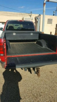 black and red utility trailer Lubbock, 79410