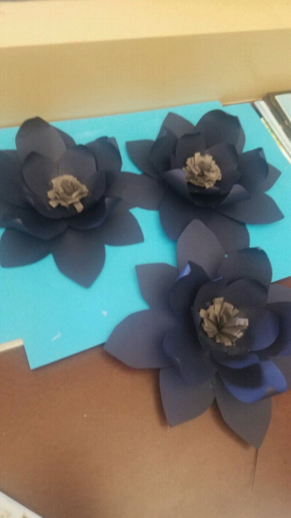 paper flower backdrops