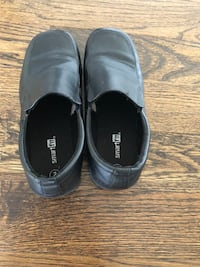 pair of black leather slip-on shoes Ashburn, 20148