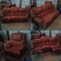 Reclining couch and chair  London