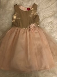Girls gold and pink dress Ontario, 91762