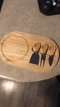New Cheese board and knives set