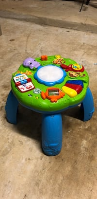 baby's green and blue activity table Richmond, 77407