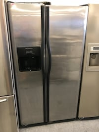 silver side-by-side refrigerator Forest Park, 45240