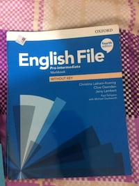 Oxford english file students book workbook a2 step2 orijinal kitap Istanbul, 34093