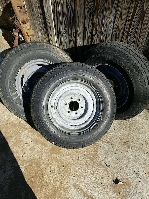 Used Boat Trailer Tires And Rims For Sale In Columbia Letgo