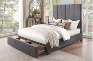 NEUNAN COLLECTION/ BED WITH DRAWERS by HOMELEGANCE  Now Only $649
