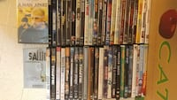 Over 50 assorted DVDs