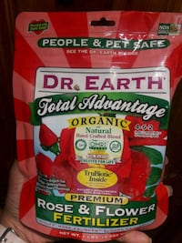 New Dr earth organic fertilizer
